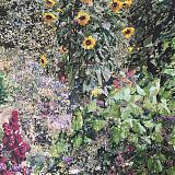 Memoryscape (garden with sunflowers), 2019